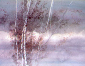 November Storm Limited Edition Watercolor Print