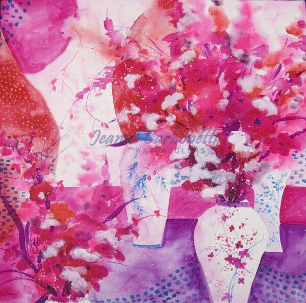 A Proper Still Life Presentation Sized Original Watercolor Painting
