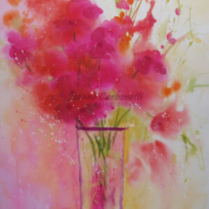 Summer Spray Original Watercolor Painting